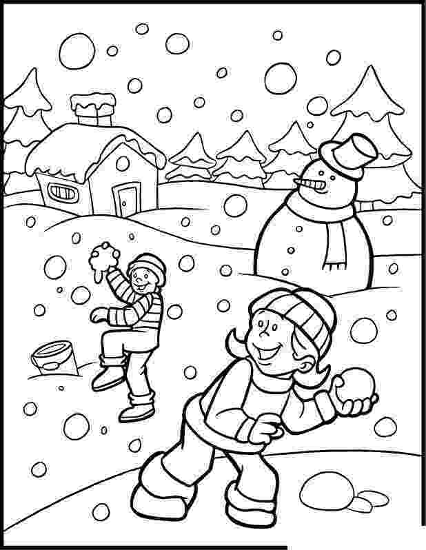 winter coloring book free printable winter coloring pages for kids winter coloring book