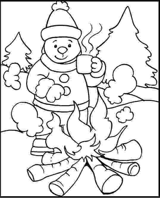 winter coloring book holiday and seasonal coloring pages winter coloring book