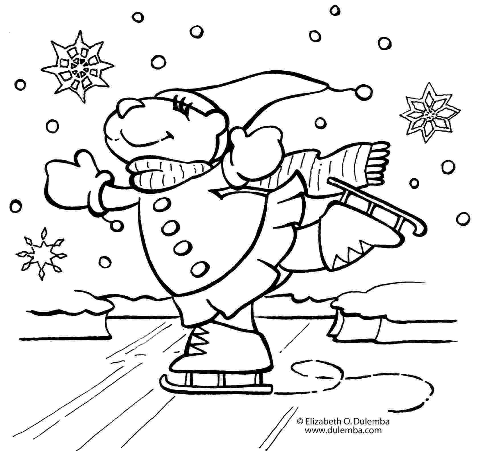 winter coloring book winter coloring pages for kids print and color the coloring winter book