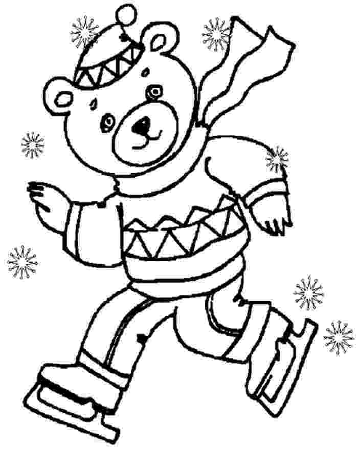 winter coloring book winter seasons janice39s daycare winter coloring book