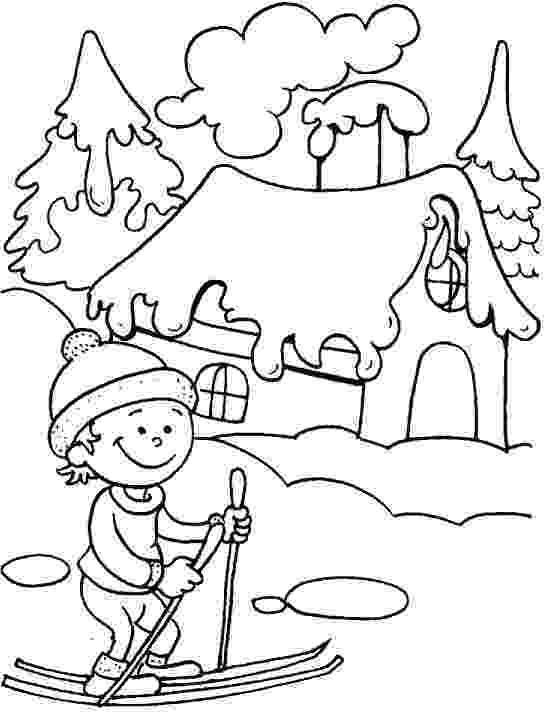 winter coloring sheets free winter printables winter coloring sheets