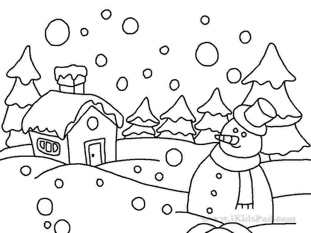 winter printable coloring pages winter coloring pages 360coloringpages pages winter coloring printable