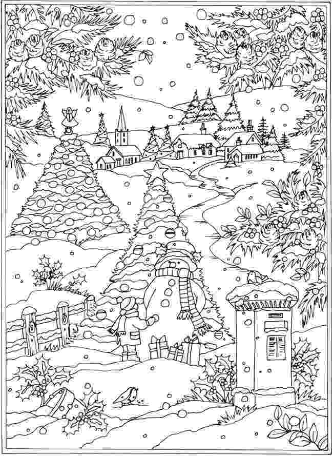 winter wonderland coloring pages 22 christmas coloring books to set the holiday mood winter coloring wonderland pages