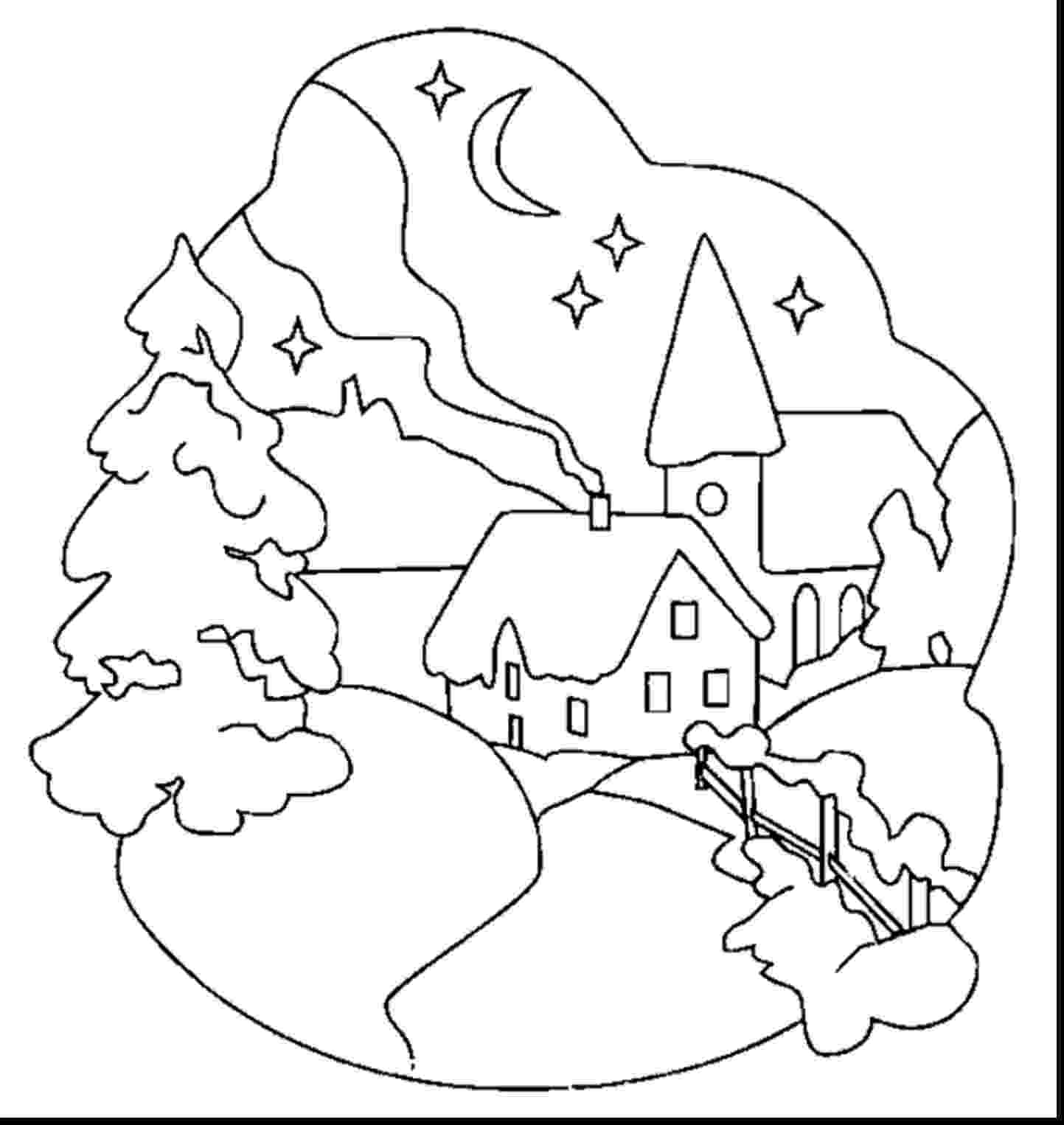 winter wonderland coloring pages two free winter wonderland printables for kids melissa winter wonderland pages coloring