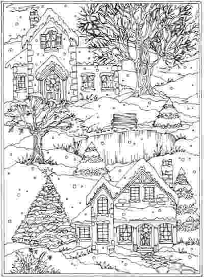 winter wonderland coloring pages welcome to dover publications from creative haven winter winter pages coloring wonderland