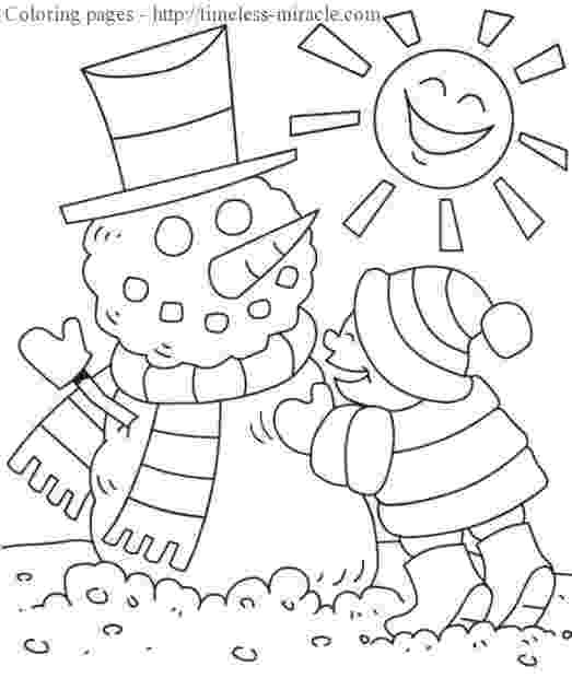 winter wonderland coloring pages winter coloring pages kindergarten winter holiday wonderland pages coloring winter