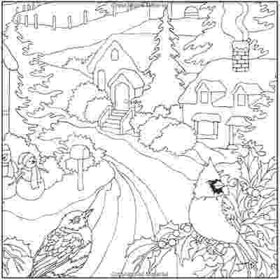 winter wonderland coloring pages zen coloring winter wonderland from knitpickscom pages wonderland winter coloring