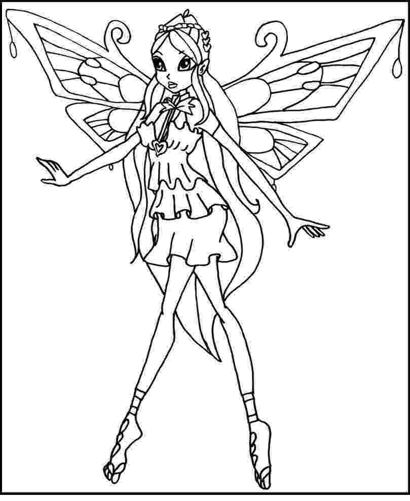 winx bloom coloring pages bloom the winx club fairy coloring pages hellokidscom coloring bloom pages winx