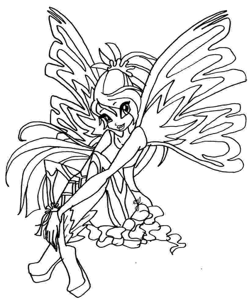 winx bloom coloring pages winx club bloom enchantix coloring pages coloring home bloom pages coloring winx