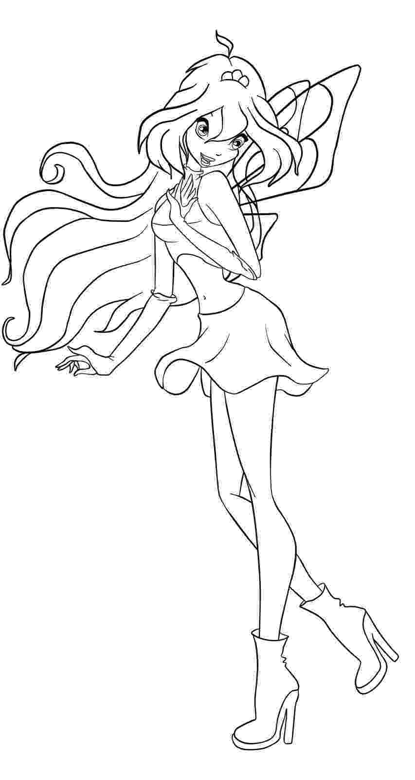 winx bloom coloring pages winx club bloomix coloring pages at getcoloringscom coloring pages winx bloom