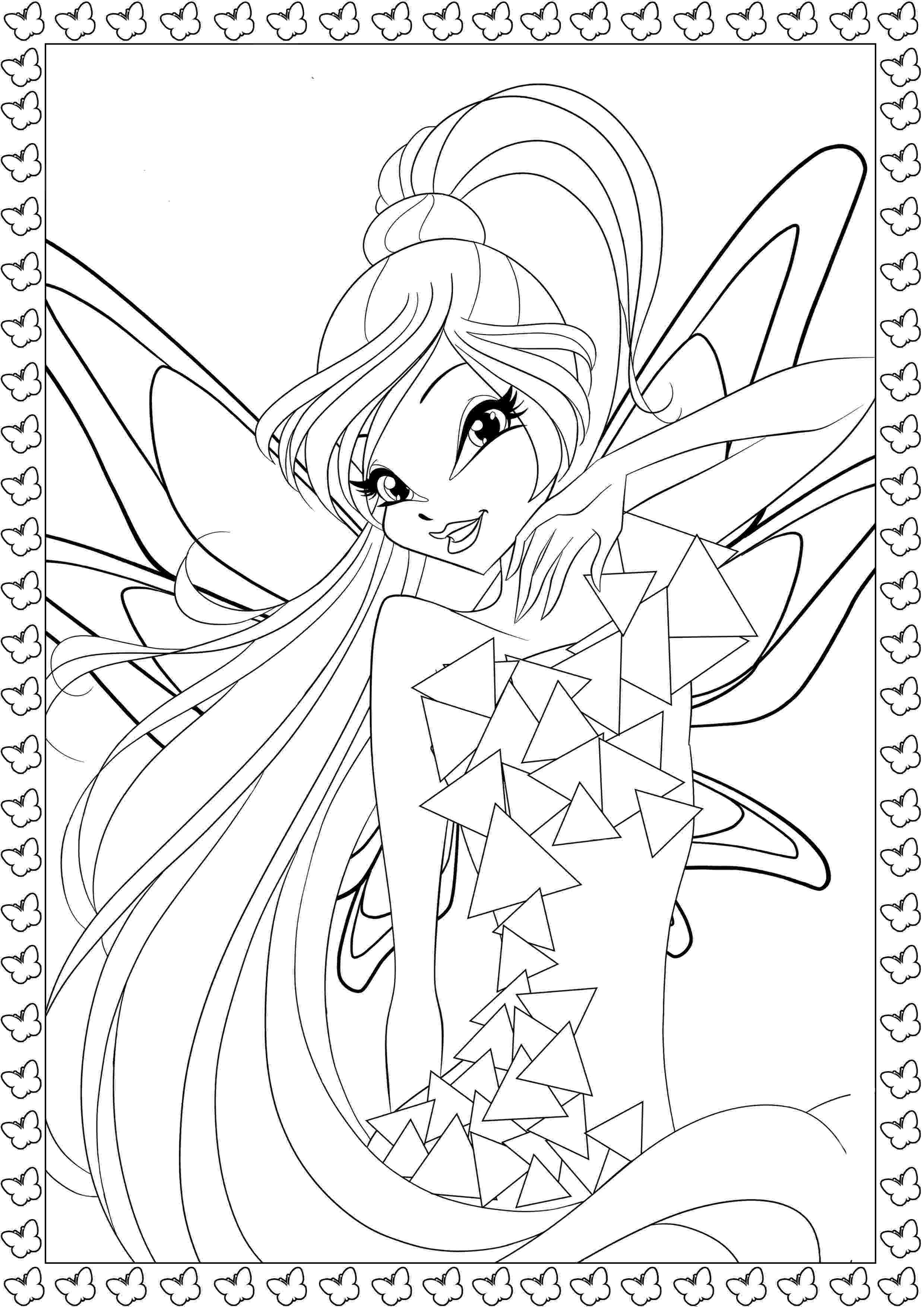 winx bloom coloring pages winx club bloomix coloring pages to download and print for bloom winx pages coloring