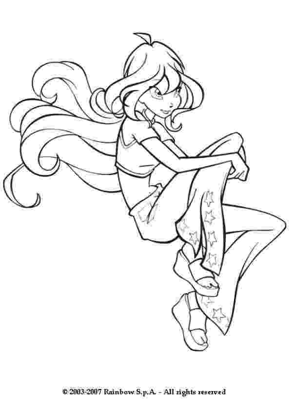 winx bloom coloring pages winx club coloring pages 360coloringpages bloom winx coloring pages