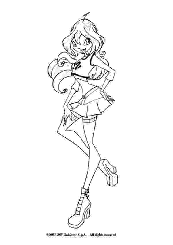 winx bloom coloring pages winx club coloring pages 360coloringpages winx bloom pages coloring