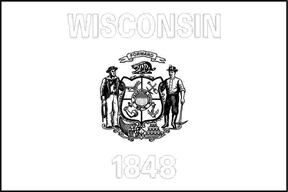 wisconsin state flag picture free printable wisconsin state flag color book pages wisconsin state picture flag