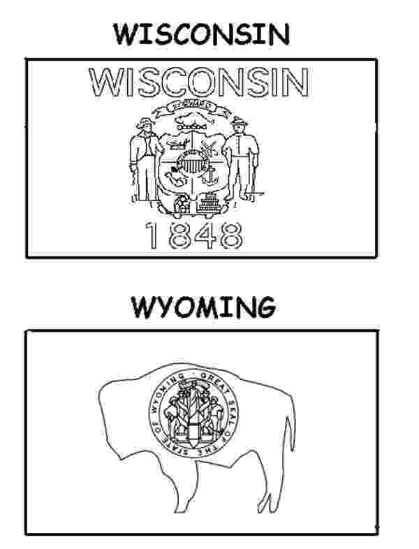 wisconsin state flag picture wisconsin and wyoming state flag coloring page color luna flag wisconsin state picture