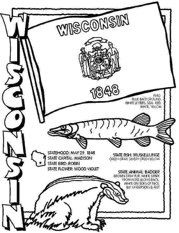 wisconsin state flag picture wisconsin state coloring page sketch coloring page wisconsin picture flag state