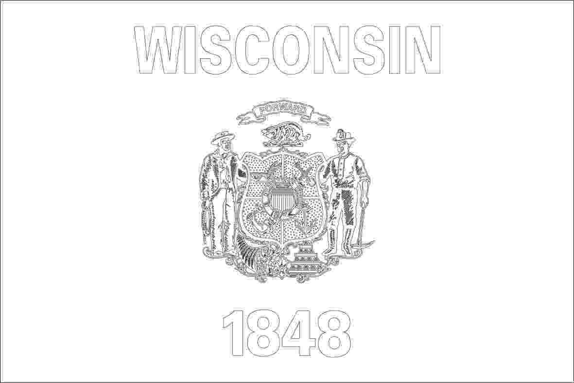 wisconsin state flag picture wisconsin state flag coloring page coloring home state picture wisconsin flag