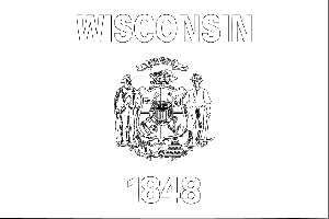 wisconsin state flag picture wisconsin state flag coloring page flag wisconsin state picture