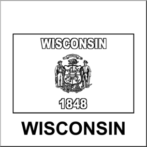 wisconsin state flag picture wisconsin state flag coloring page free printable flag picture state wisconsin