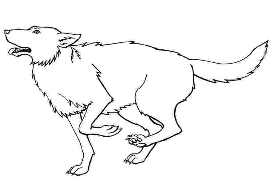 wolf coloring free printable wolf coloring pages for kids wolf coloring 1 6