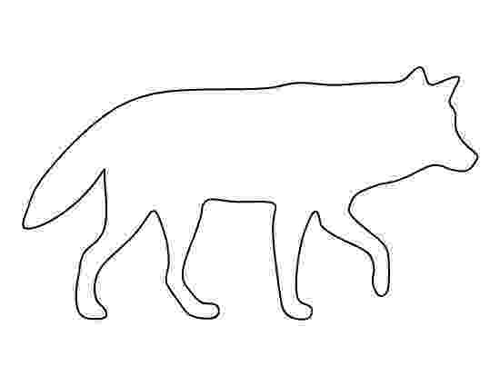 wolf cut out printable 42 best images about animal outlines templates on pinterest cut wolf out printable