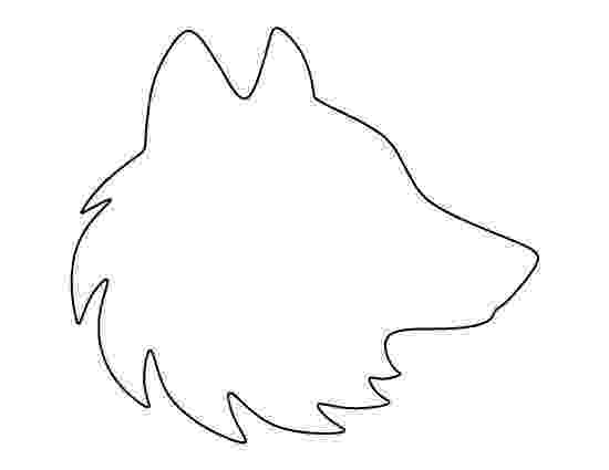 wolf cut out printable howling wolf pattern use the printable outline for crafts printable out wolf cut
