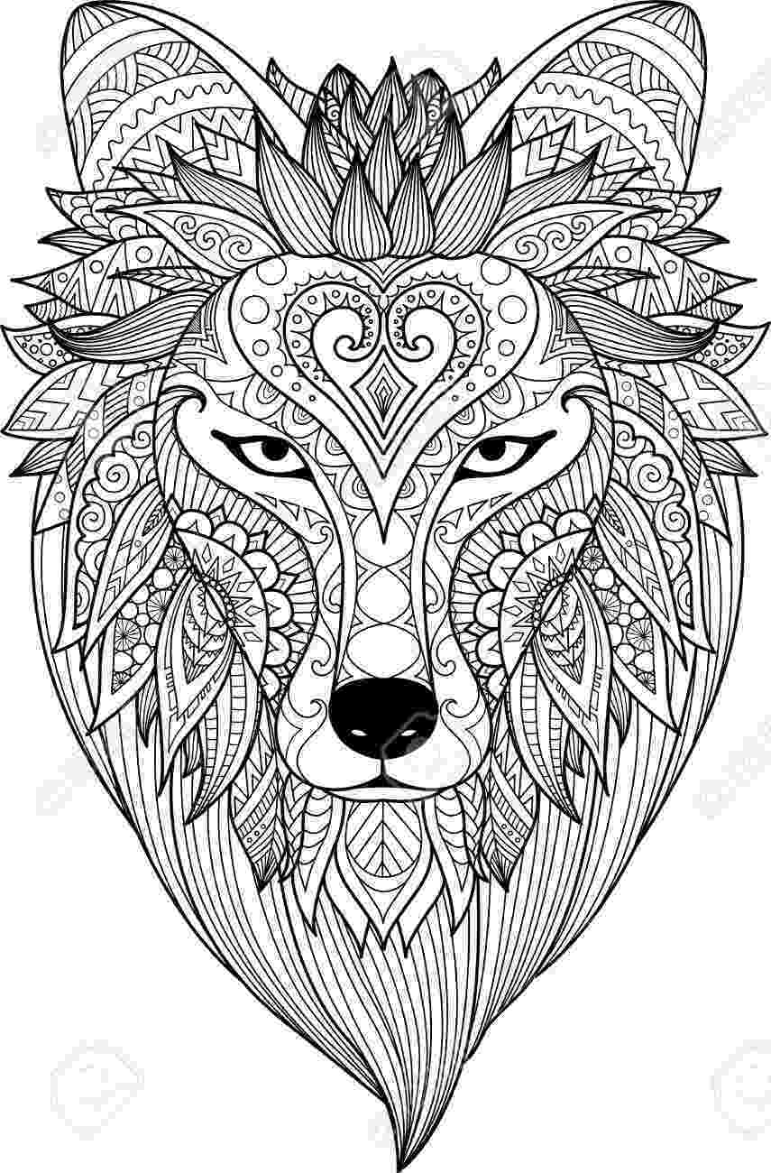 wolf face coloring pages realistic wolf coloring pages how to draw quileute tribe pages wolf coloring face