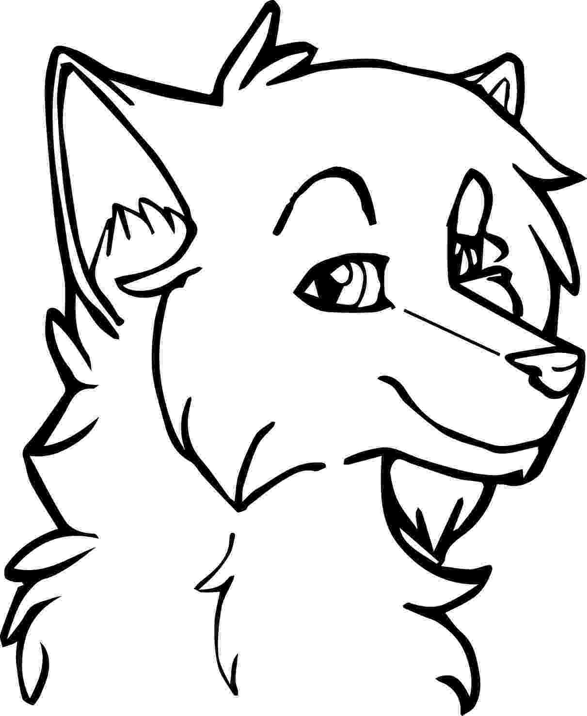 wolf face coloring pages wolf coloring pages 360coloringpages face pages coloring wolf