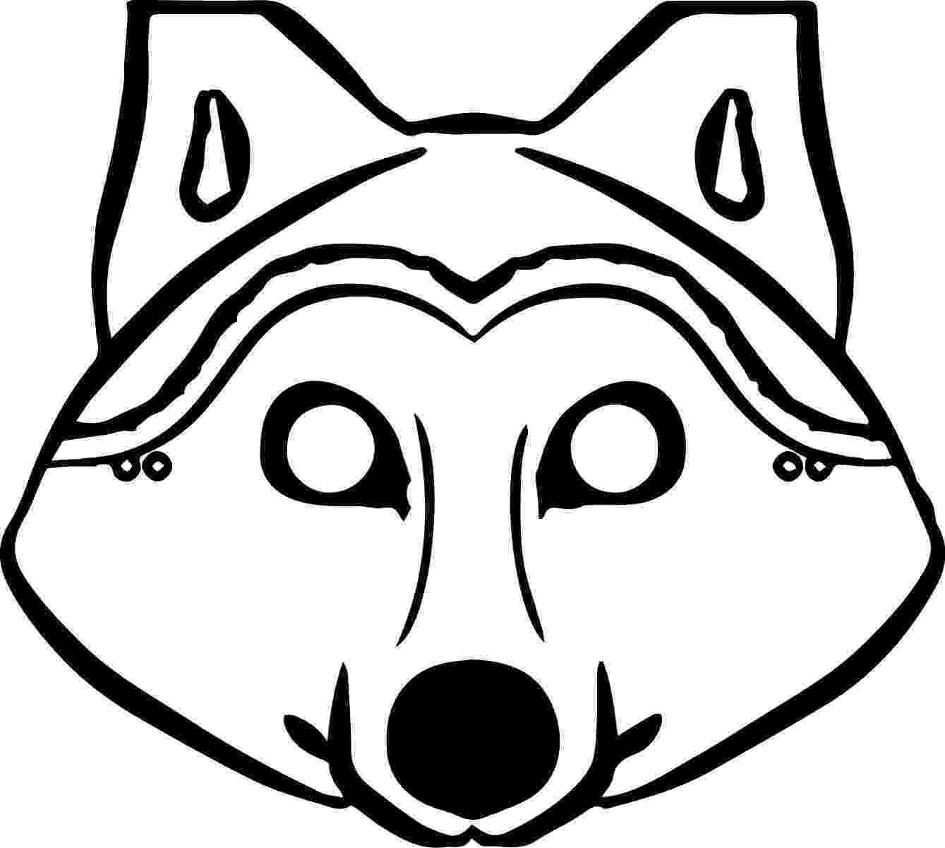 wolf face coloring pages wolf coloring pages 360coloringpages face wolf coloring pages