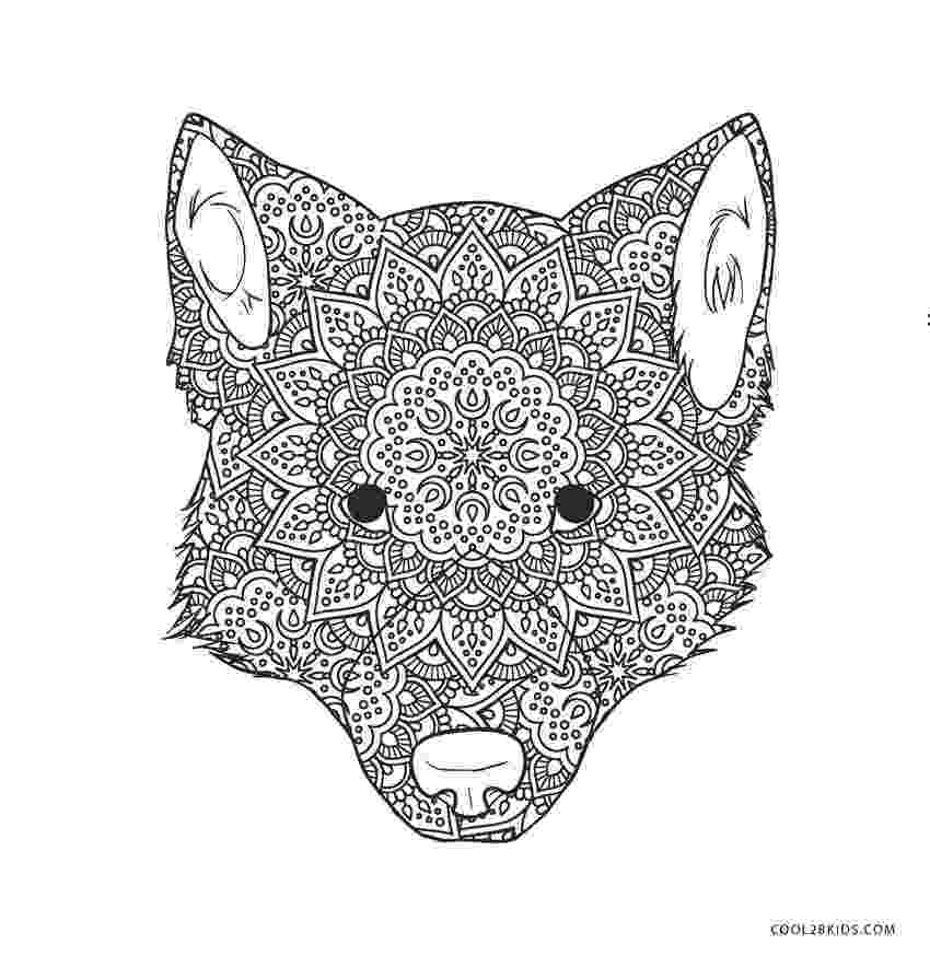 wolf face coloring pages wolf face outline coloring home coloring pages wolf face