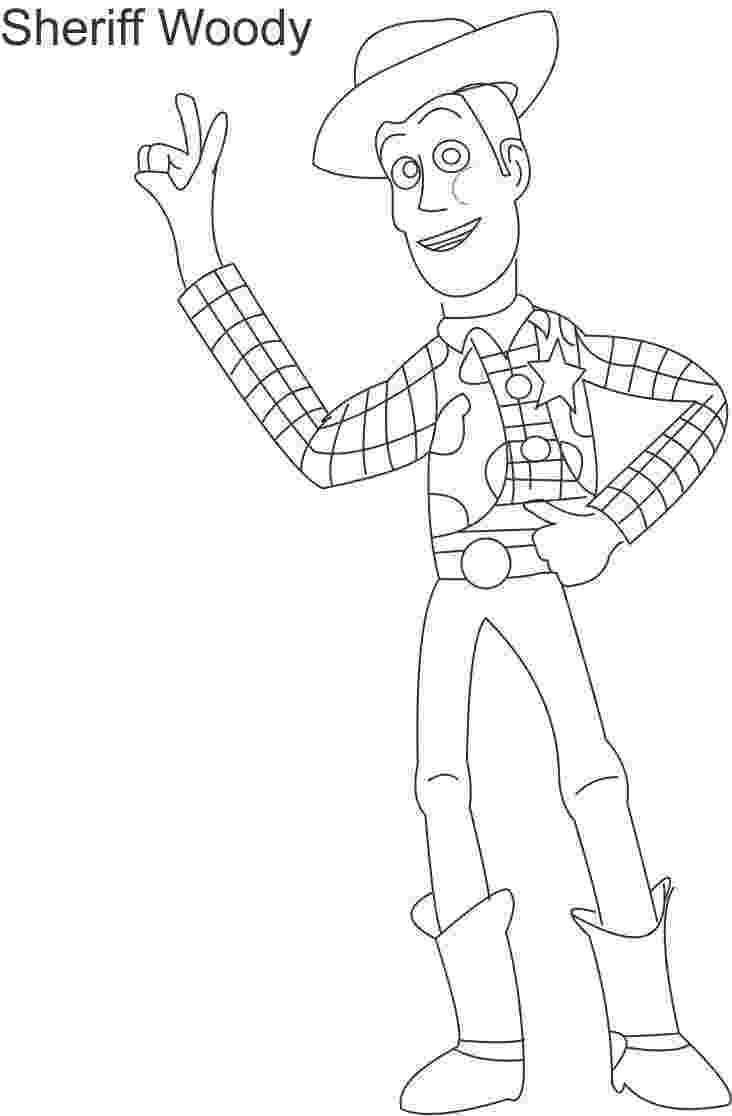 woody coloring sheet toy woody sheriff coloring page for kids coloring sheet woody