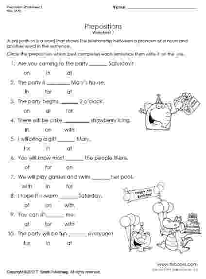 worksheet for grade 1 preposition a2zworksheetsworksheet of prepositions prepositions grade worksheet for 1 preposition