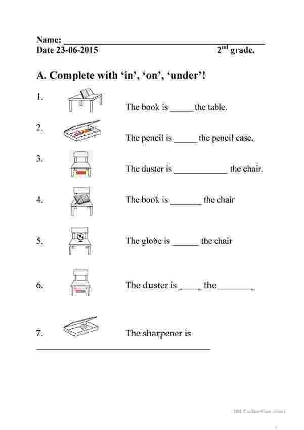 worksheet for grade 1 preposition in on under worksheet free esl printable worksheets made 1 preposition grade worksheet for