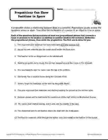 worksheet for grade 1 preposition preposition worksheet prepositions can show position in for grade preposition worksheet 1