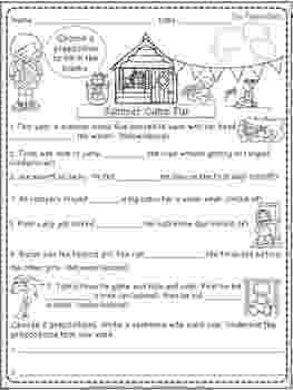 worksheet for grade 1 preposition preposition worksheet year 4 1 grade preposition worksheet for