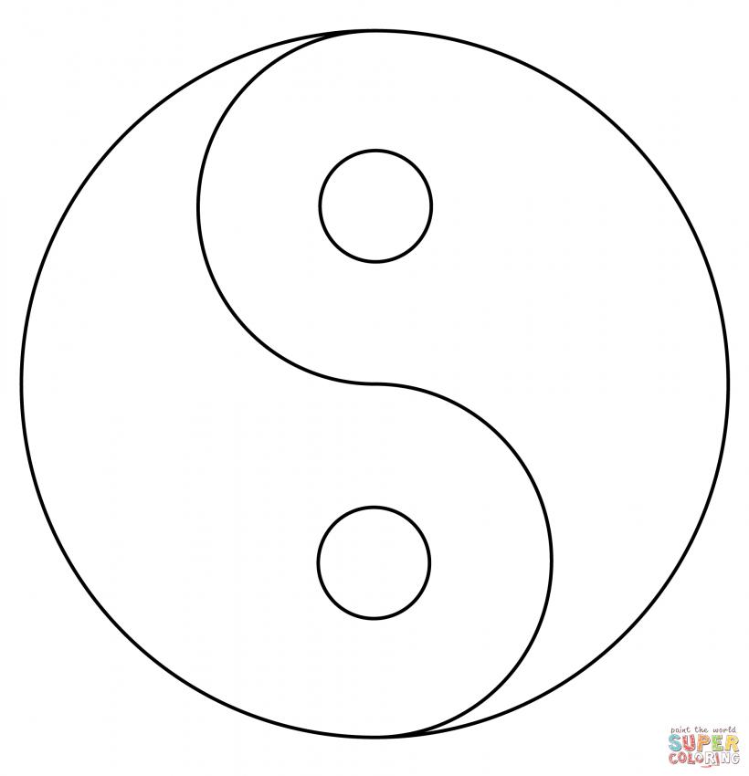 ying yang coloring pages yin yang coloring page free printable coloring pages ying pages yang coloring