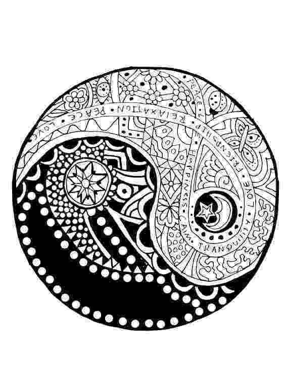 ying yang coloring pages ying yang coloring pages at getcoloringscom free yang ying coloring pages