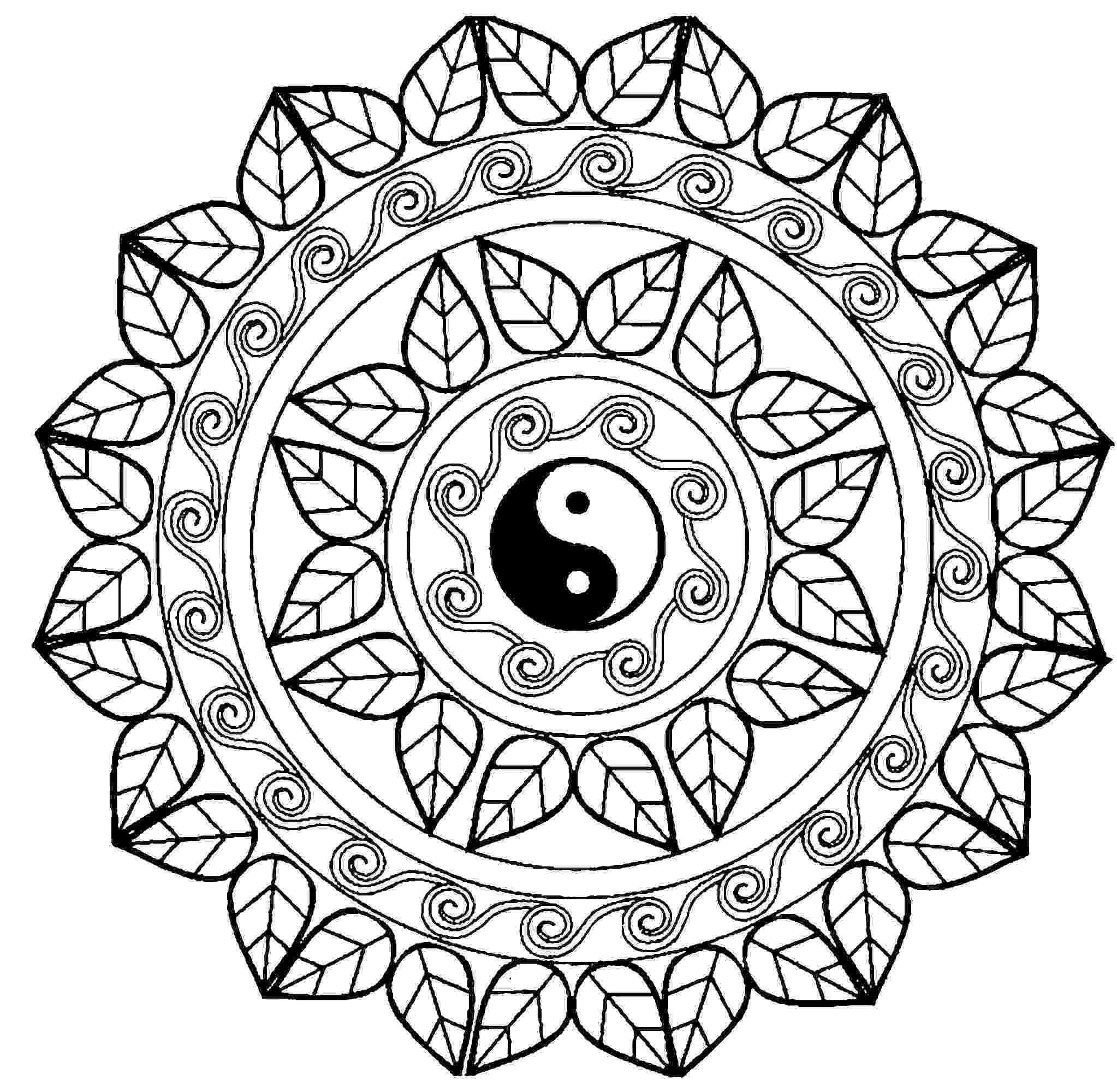 ying yang coloring pages ying yang colouring pages clipart best yang ying pages coloring