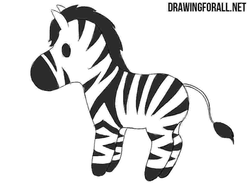 zebra sketch silhouette drawing outline free image on pixabay zebra sketch