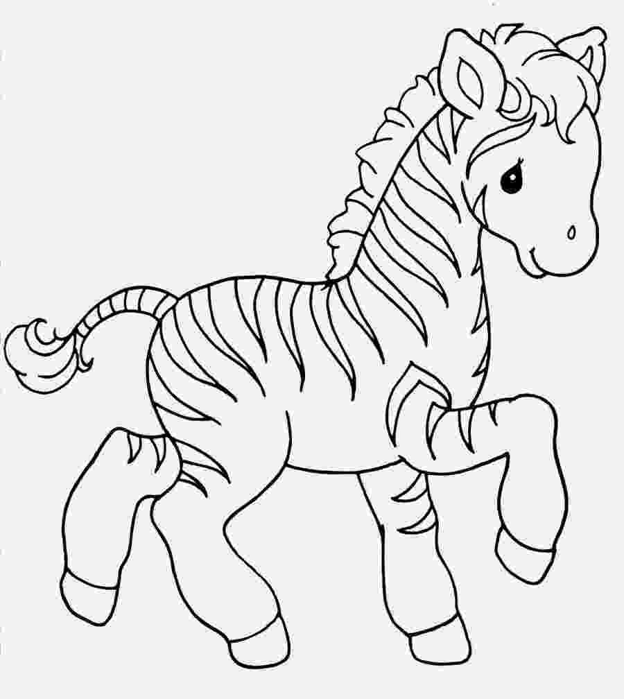 zebra to colour free animal baby zebra coloring pages colour to zebra