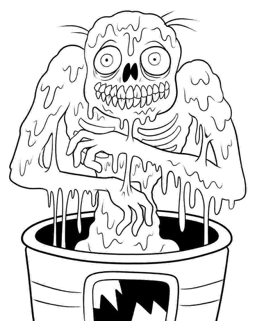 zombie coloring page how to draw zombie patrick zombie patrick step by step page coloring zombie
