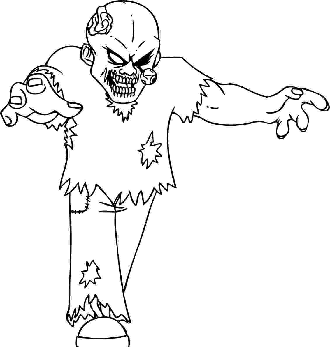 zombie printable coloring pages free printable zombies coloring pages for kids zombie coloring pages printable