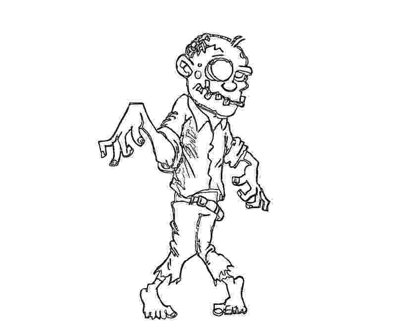 zombies coloring pages free printable zombies coloring pages for kids zombies coloring pages
