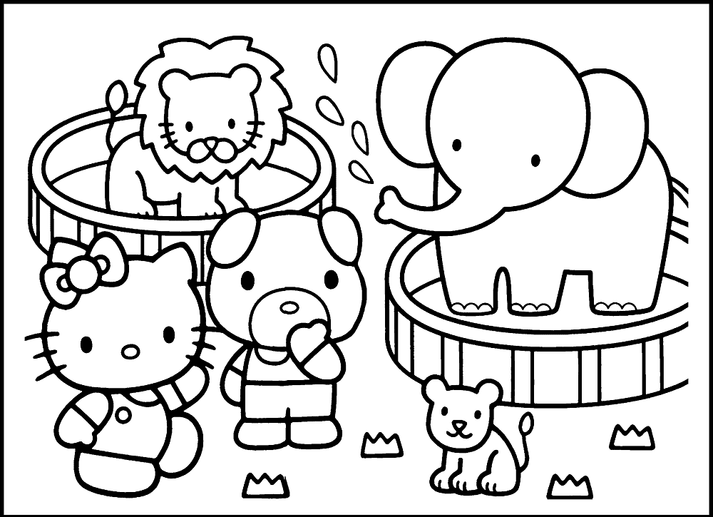 zoo animal coloring pictures free printable zoo coloring pages for kids coloring pictures animal zoo