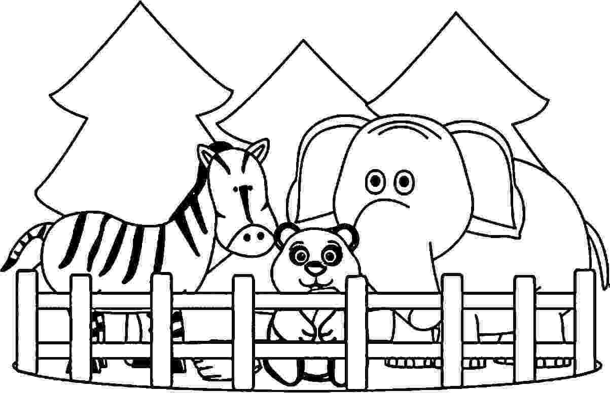 zoo animal coloring pictures zoo coloring pages coloring kids zoo animal pictures coloring