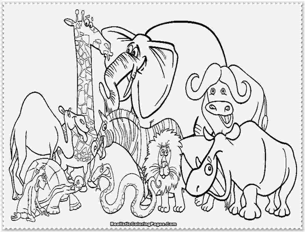 zoo animal coloring pictures zoo coloring pages getcoloringpagescom animal coloring zoo pictures