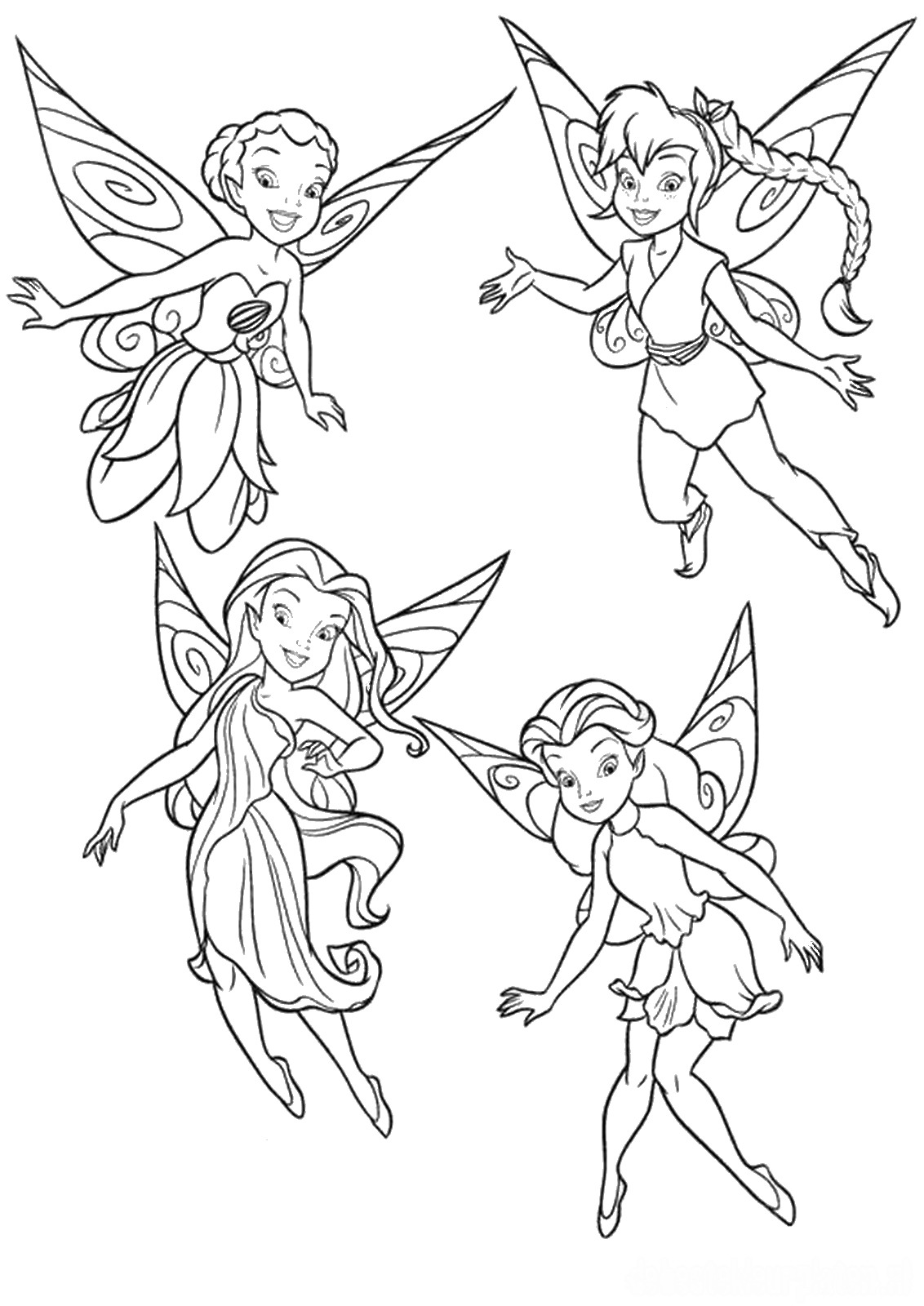 tinkerbell coloring coloring pages disney tinkerbell and friends divyajananiorg coloring tinkerbell