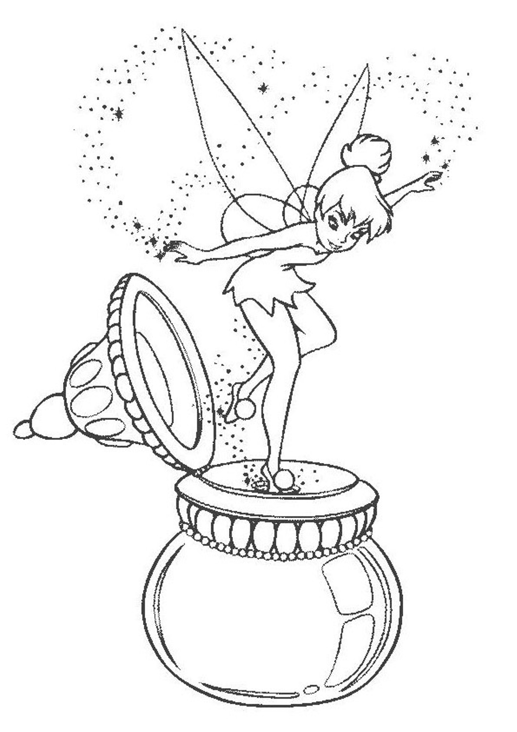 tinkerbell coloring tinkerbell and friends coloring pages team colors coloring tinkerbell