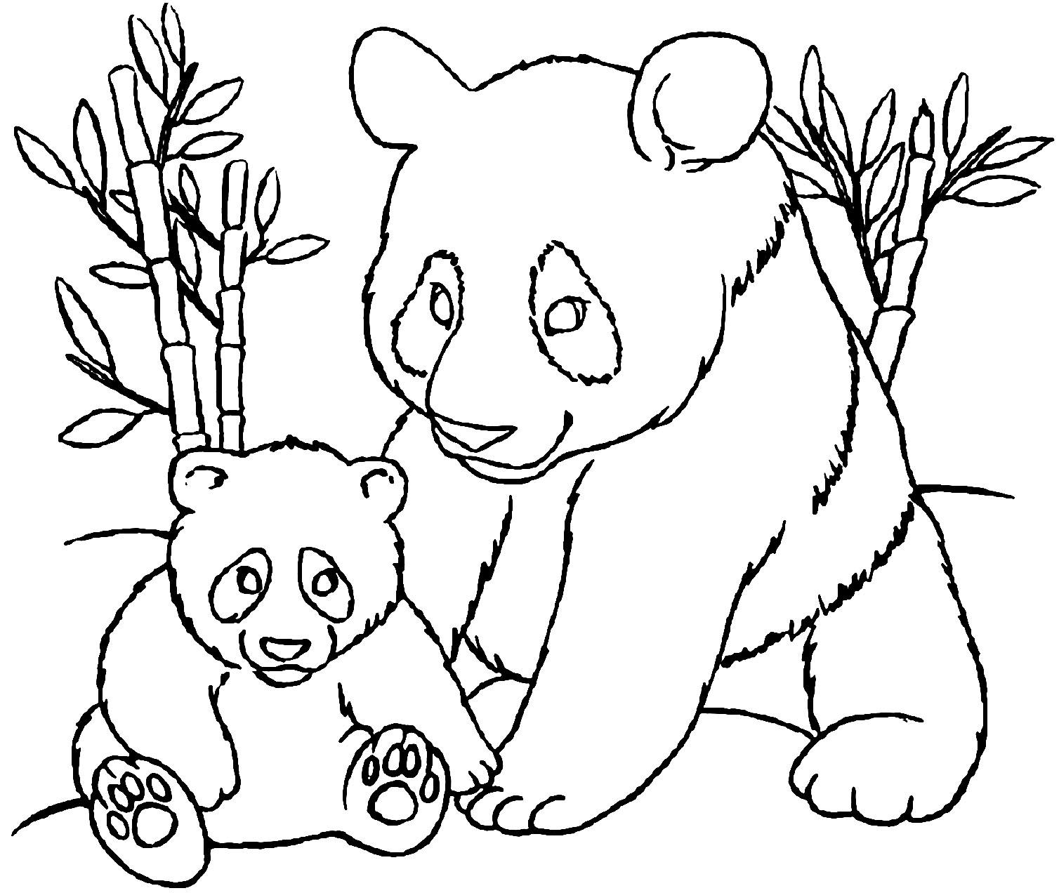coloring panda free easy to print panda coloring pages  tulamama coloring panda