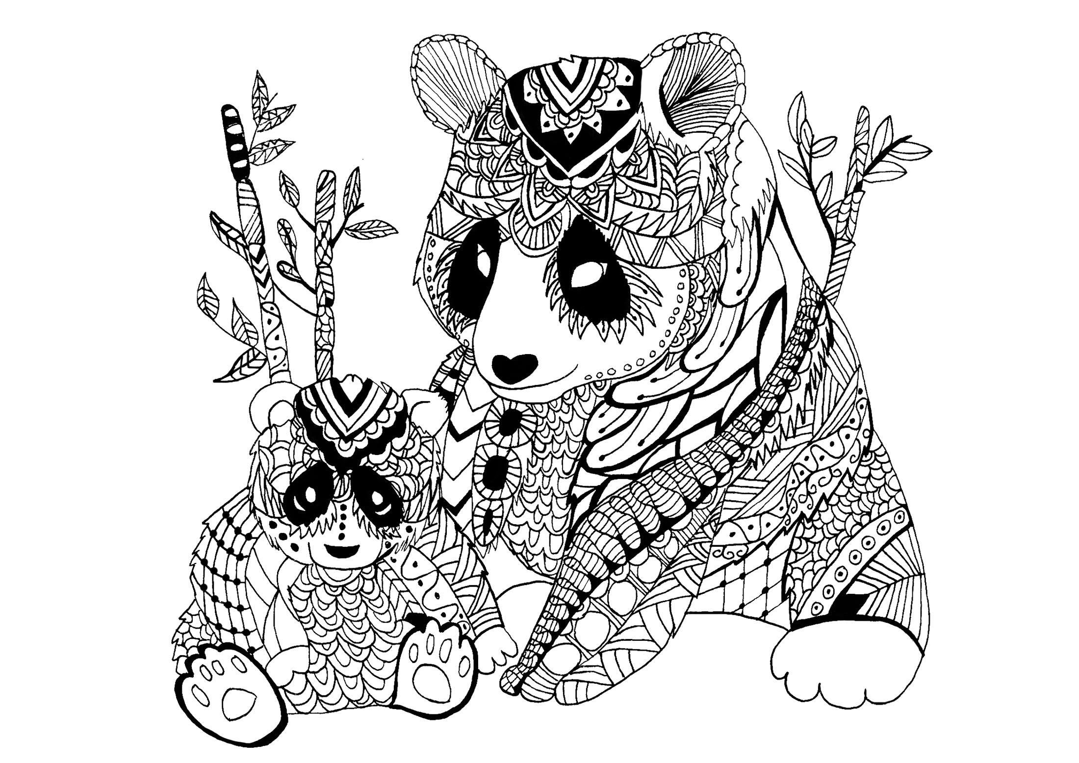 coloring panda panda coloring pages  best coloring pages for kids coloring panda